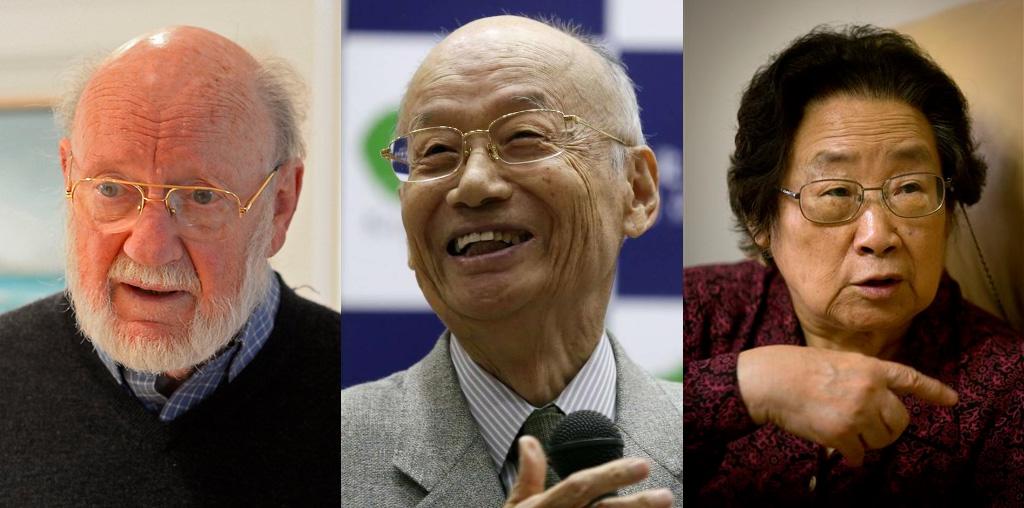 Лауреаты Нобелевской премии по медицине за 2015 г. - 5