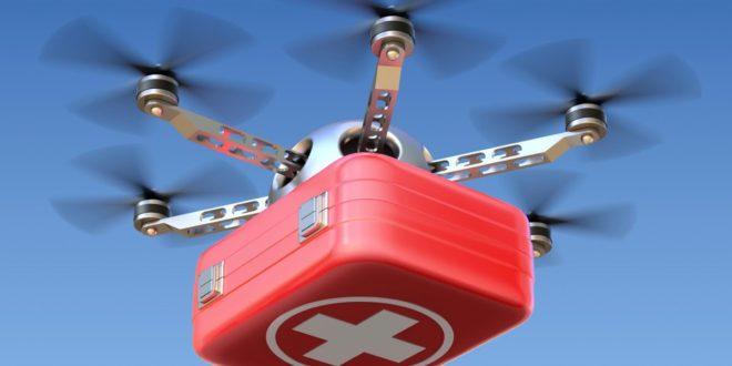 Дроны в индии будут доставлять органы пациентам